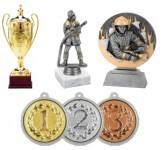 Sportovní poháry, plakety, medaile ...