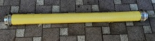 Savice 110 žlutá 2,5m Profi-Extra s prodlouženou košovkou
