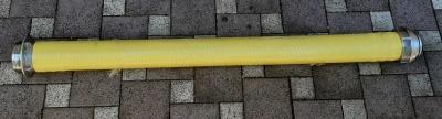 Savice 110 žlutá 2,5m Profi-Extra s prodlouženým náběhem obr.1