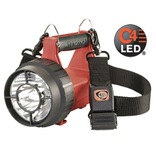 Ruční nabíjecí hasičská LED svítilna VULCAN LED ATEX - 180lm - s nabíječi 230/12V