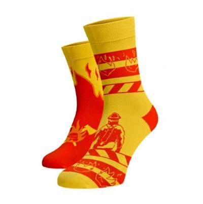 Veselé hasičské ponožky obr.4