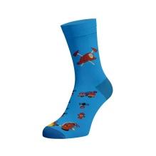 Veselé ponožky hasiči obr.1
