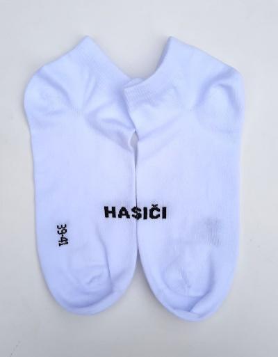 Bavlněné kotníkové ponožky s nápisem Hasiči obr.3