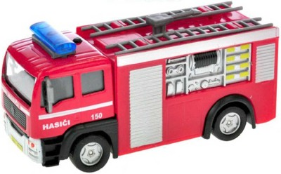 Auto hasiči 12cm se světlem a zvukem, česky mluvící
