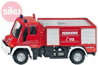 Auto hasiči SIKU, mercedes