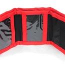 Dětská peněženka HASIČI rozložená - červená
