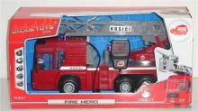 Dětské hasičské autíčko s mikrofonem, 43cm