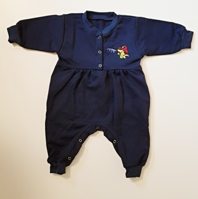 Dětský hasičský overal BABY se Soptíkem na prsou obr.1