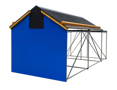 Domeček rozkládací 4 x 100 m překážek obr.1
