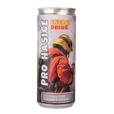 Energetický nápoj pro hasiče