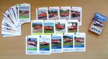 Hasičské karty - kvarteto s českou hasičskou technikou