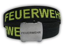 Opasek FEUERWEHR s otvírákem v přezce_1 (120cm) černý