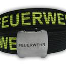 Opasek FEUERWEHR s otvírákem v přezce_1 (140cm) černý