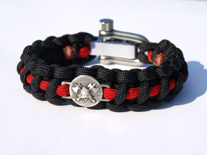 62162e972 Náramek na ruku - HASIČI. Náramek Hasiči s logem 3D. Vysoce kvalitní a  stylový ...