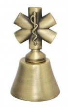 Zvoneček ZÁCHRANÁŘI 3D hvězda života - DOPRODEJ