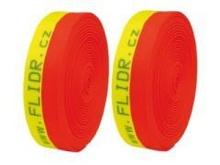 Popruh (stuha) šířka 65mm - 20m Reflex Neon