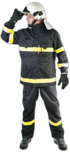 "Ochranný oděv BUSHFIRE s nápisem ""HASIČI"" - komplet"