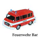 Magnet - Feuerwehr Barkas
