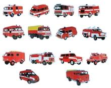 Magnetky hasičských aut