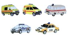 Magnety aut policie a záchranářů