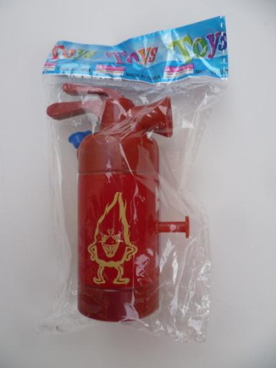 Dětský ruční mini hasicí přístroj - stříkací v obalu
