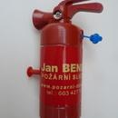 Dětský ruční mini hasicí přístroj - stříkací druhá strana
