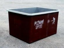 Nádrž (káď) pro požární sport - Klasik extra