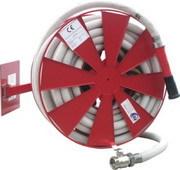 Hydrantový systém DN33 - 30m naviják s konzolí