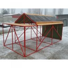 Domeček rozkládací 4 x 100 m překážek s plošinou pro ženy/dorost