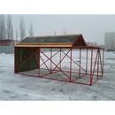 Domeček rozkládací 4 x 100m překážek