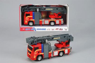 Dětské hasičské auto na setrvačník + světla, 31cm.jpg
