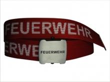 Opasek FEUERWEHR s otvírákem v přezce (140cm)