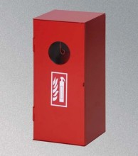 Skříňka na hasicí přístroj práškový