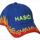 Čepice, kšiltovka s plameny modrá.jpg
