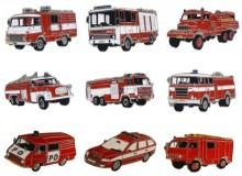 Odznaky hasičská auta