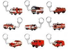 Přívěšek hasičské auto