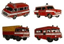 Odznaky hasičská auta FEUERWEHR