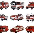 Odznaky hasičských aut