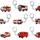 Přívěšky hasičských aut