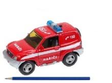 Auto hasiči mitsubishi kovové