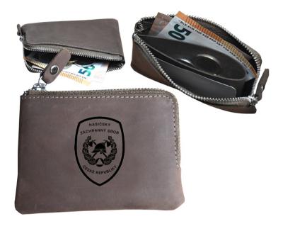 Hasičská peněženka - malá s PROFI znakem