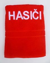 Hasičský luxusní  bavlněný ručník