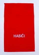 Hasičský luxusní bavlněný ručník HASIČI - mini