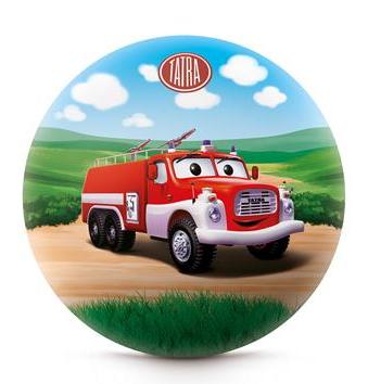 Míč s obrázkem hasičské tatry 15 cm obr.1