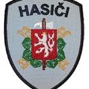Našívací znak Sboru dobrovolných hasičů světle modrý
