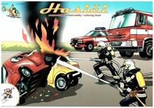 Omalovánky s hasičskou tématikou