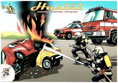 Omalovánky s hasičskou tématikou obr.1