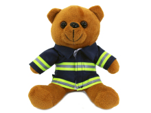 Plyšový medvídek hasiči