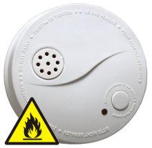 Požární hlásič a detektor kouře F1