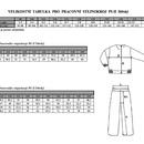 Tabulka Velikostí dětských PS II